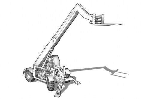 stivuitor-telescopic